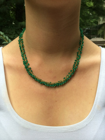 Green Beaded Bundle