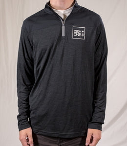 Under Armour 1/4 Zip - Heather Black