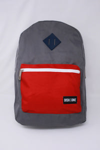 Red and Grey Backpack