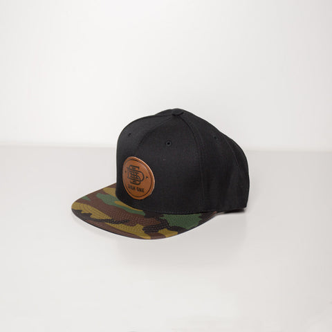 Brown Patch Camo Hat