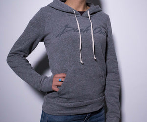 Womens Heather Gray Hoodie