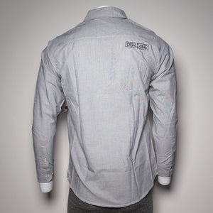 Button-Up Long Sleeve Gray