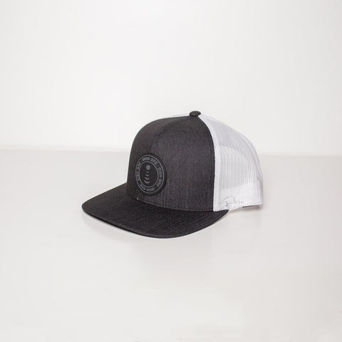 White Heather Trucker Mesh Hat