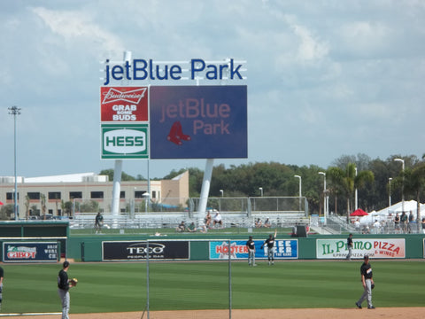Boston Red Sox, Jet Blue Stadium, Ft Meyers, BATCO visit 2013