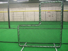 Protective Pitchers L-screen, throwing saftey, drill use