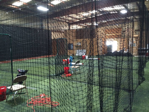 Hitting cages Planet FastPitch in Colorado Springs CO