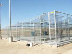 Enclose 3 cages, turf, machines Taft CA