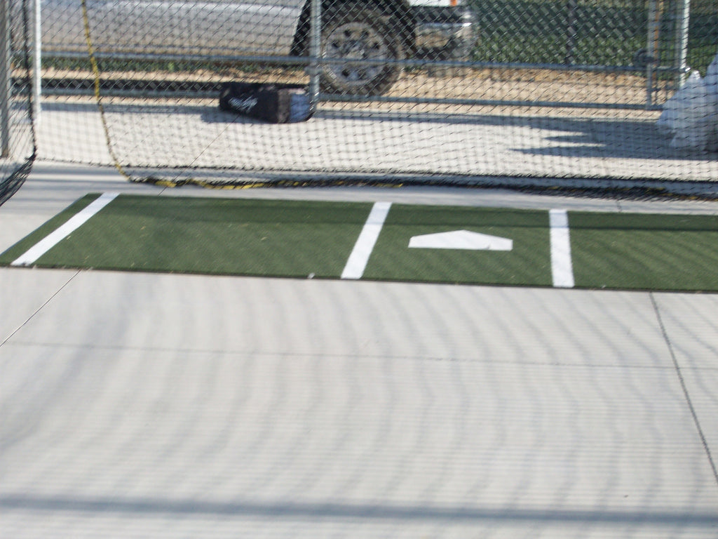 Stance Mats with Batting Lines
