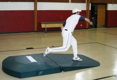 Portable Pitcher Mounds Variable Pitching Rubber Heights