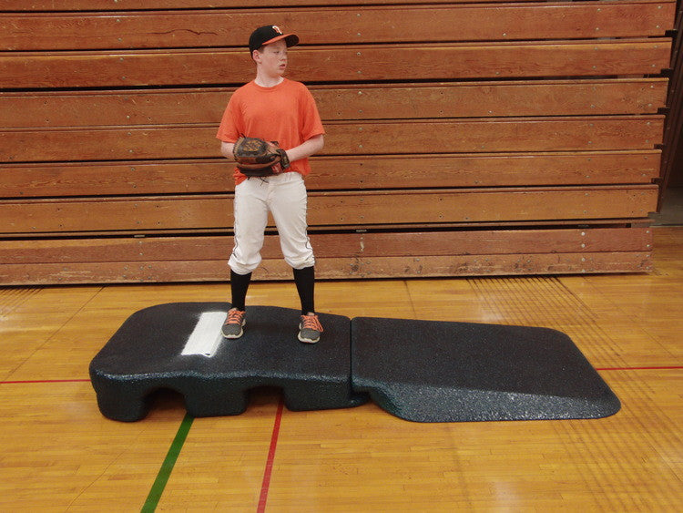 Portable Pitcher Mounds Variable Pitching Rubber Heights All Sizes