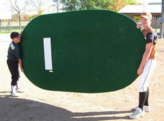 Portable pitching mound, convert fields, convert Park to baseball fields