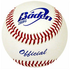 Leather baseball, with NFHS spec's, a game ball, good value on leather baseballs
