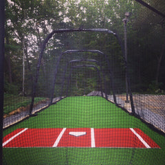 Terra Cotta Stance mat intalled outdoor in NY BATCO cage