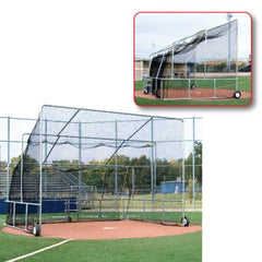 Non Folding Home plate cage