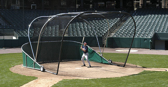home batting cages baseball portable movable batting cage use home plate on 1654