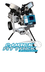 Hack Attack pitching machine, programable, individual pitches, baseball, softball