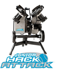 Hack Attack pitching machine, baseball or softballl, light, easy move, drill or cage work