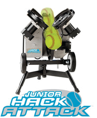 Hack Attack pitching machine, softball machine pitching, drills