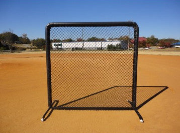 baseball fielders protective screen, coaches protector, machine guard