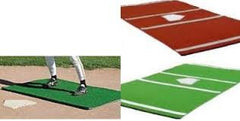 Stance mats, color choices, single mat for pitching or batters box