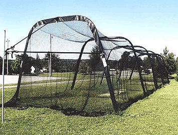 Outdoor Batting Cage by Batco