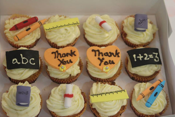 Teachers Day Cupcakes