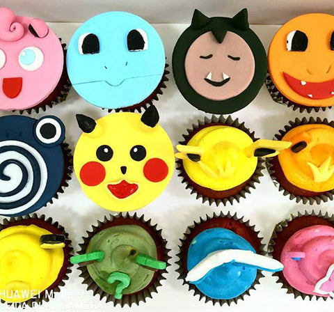 pokemon cupcakes red velvet