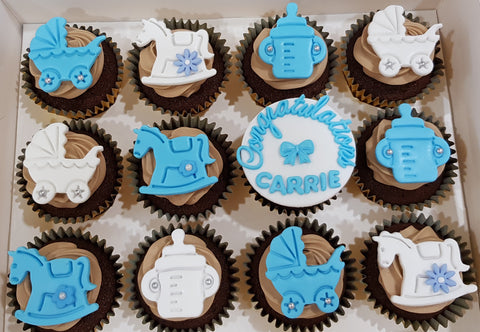 Baby Shower Cupcakes (Box of 12)