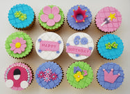 Fairy Tale Cupcakes (Box of 12) - Cuppacakes - Singapore's Very Own Cupcakes Shop