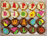 Deepavali Mini Cupcakes (Box of 20) - Cuppacakes - Singapore's Very Own Cupcakes Shop
