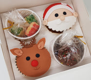 4 / 2 pc Variety Gift Box (Set of 8 / 10) - Santa And Friends Series