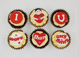 Valentine's Day Cupcake Set - I Love You More Than Anything - For Her - Cuppacakes - Singapore's Very Own Cupcakes Shop