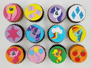 My Little Pony Cupcakes (Box of 12)