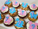 Gender Reveal Cupcakes (Box of 12)