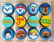 Paw Patrol Cupcakes (Box of 12)