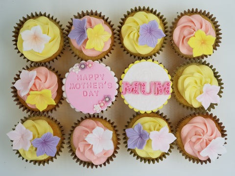 Mother's Day Cupcake Set - Sweet Floral - Cuppacakes - Singapore's Very Own Cupcakes Shop