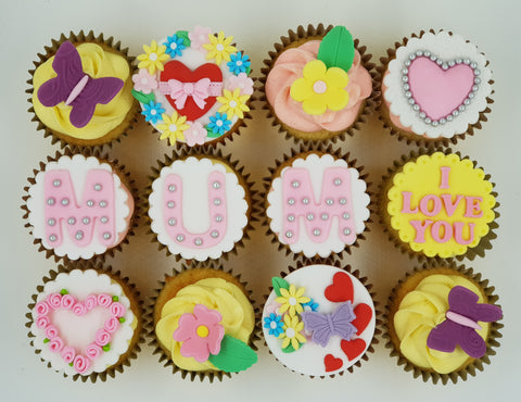 Mother's Day Cupcake Set - I Love MUM - Cuppacakes - Singapore's Very Own Cupcakes Shop