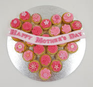Mother's Day Mini Cupcake Set - A Heart for Mum - Cuppacakes - Singapore's Very Own Cupcakes Shop