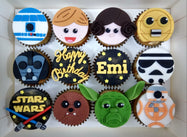 Starwars Cupcakes (Box of 12) - Cuppacakes - Singapore's Very Own Cupcakes Shop