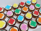 Thank You Cupcakes (Box of 12) - Cuppacakes - Singapore's Very Own Cupcakes Shop