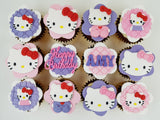 Hello Kitty Cupcakes (Box of 12) - Cuppacakes - Singapore's Very Own Cupcakes Shop