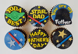 Father's Day Cupcake Set - Dad, Yoda-Best - Cuppacakes - Singapore's Very Own Cupcakes Shop