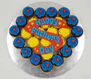 Father's Day Mini Cupcake Set - Super Happy Father's Day - Cuppacakes - Singapore's Very Own Cupcakes Shop