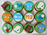 Golf Themed Cupcakes (Box of 12) - Cuppacakes - Singapore's Very Own Cupcakes Shop