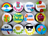 Wordings of your choice (Box of 12) - Cuppacakes - Singapore's Very Own Cupcakes Shop