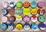 Pokemon Cupcakes (Box of 12) - Cuppacakes - Singapore's Very Own Cupcakes Shop