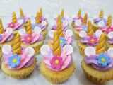 Unicorn Mini Cupcakes (Box of 20) - Cuppacakes - Singapore's Very Own Cupcakes Shop