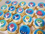 Edible Print Mini Cupcakes (Box of 20) - Cuppacakes - Singapore's Very Own Cupcakes Shop