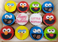 Sesame Street Cupcakes (Box of 12)