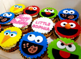 Sesame Street Cupcakes (Box of 12) - Cuppacakes - Singapore's Very Own Cupcakes Shop